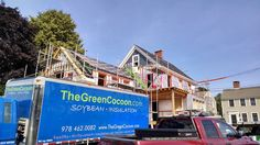 Check this out! THREE of our business partners, The Green Cocoon, EcoSound Builders, and Minutemen Painters joined together to finish off this beautiful home! Now THAT'S a green restoration!
