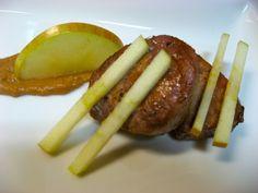El Restaurante de Casa: SOLOMILLO DE CERDO A LA NARANJA CON MANZANA