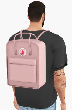 Unisex Kanken accessory backpacks for The Sims 4 | Sims 4 ...