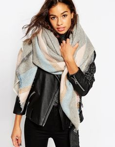ASOS Woven Oversized Scarf on Shopstyle.