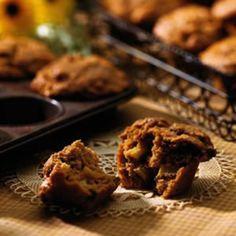 Spiced Apple Butter Bran Muffins - Fitnessmagazine.com