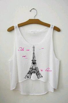 Petite blouse super sympa pour l'été et sa température caliente !! #Croctop #FashionisInside