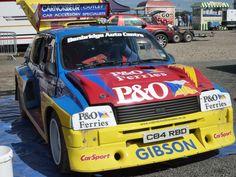 Multi British and Irish Rallycross Champion Lawrence Gibson's 550 BHP Metro 6R4 www.carnoisseur.com