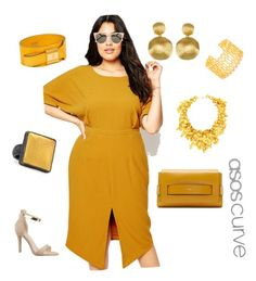 """""""Oh this old thing"""" by corinna-smith-lockamy on Polyvore featuring ASOS Curve, Fendi, Gurhan, Marco Bicego, Gorjana and Chloé"""