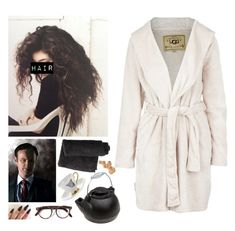 """""""Sherlock OC: Surprise visit from Mycroft"""" by mermer1324 ❤ liked on Polyvore featuring Melody Rose, Danielle Creations, Cutler and Gross, UGG Australia, ugg, OC, teaparty and sherlock"""