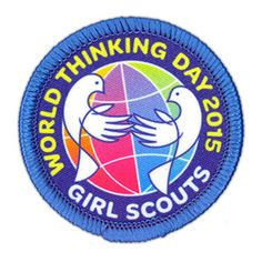 Celebrate World Thinking Day on February day when Girl Scouts and girls around the planet participate in activities and projects with global themes. Girl Scouts Usa, Girl Scouts Of America, Daisy Girl Scouts, Girl Scout Troop, Scout Leader, Gs World, Global World, World Peace, Girl Scout Badges