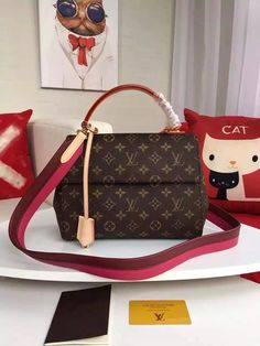 Louis Vuitton Monogram Canvas Cluny PM M42738.  Find more Louis Vuitton bags at http://www.luxtime.su/louis-vuitton-handbags