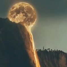 Moonset in Yosemite National Park! 🌕 with BGM - Why Not - Nature travel Nature Pictures, Beautiful Pictures, Moon Setting, Wooden Watch, Walking In Nature, Cool Logo, National Parks, Photo Editing, Instagram