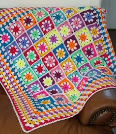 Check out this item in my Etsy shop https://www.etsy.com/uk/listing/468158435/ready-to-ship-daisy-granny-squares-vivid