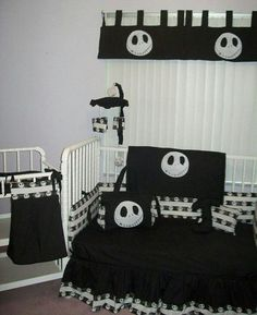 lampert lampert greer i want a baby now so that i can have this lol new nightmare before christmas jack baby crib bedding set custom made to order