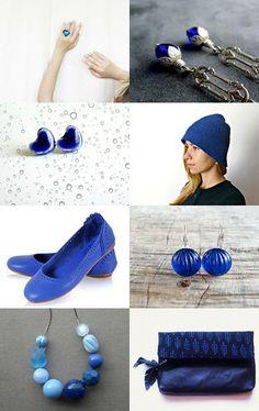 Blue Love by Susana Ferrand on Etsy--Pinned with TreasuryPin.com