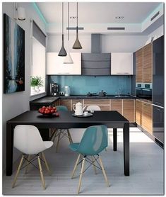 Modern Decor - Modern yet brilliant tips. Wonderful styling reference data sectioned under modern decor minimalist home catergory as well produced on this day 20190427 Living Room Kitchen, Home Decor Kitchen, Living Room Interior, Interior Design Kitchen, Modern Interior Design, New Kitchen, Kitchen Modern, Modern Interiors, Living Rooms
