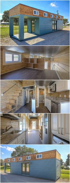 Kansas City Based Company Proves That Containers Are Amazing Tiny House Materials - Custom Container Living company out of Kansas City is in the business of taking shipping containers and turning them into amazing tiny houses. One of their designs that's out of this world is this 312-square foot house.