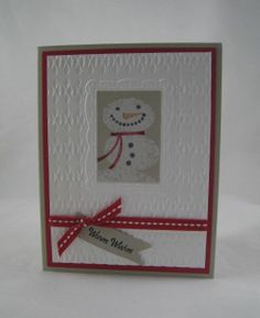 Snow Day -Double Texture Embossing