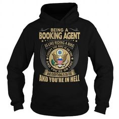 Booking Agent Job Title T-Shirts, Hoodies (39.99$ ==► Order Here!)