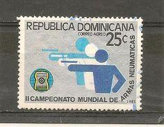 DOMINICAN REPUBLIC STAMP USED II CAMPEONATO