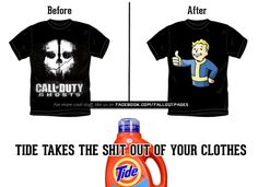 ALL CLEAN!  fallout fallout 4 cod call of duty tide