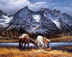 Terry Redlin Paintings, Artworks, Art Paintings