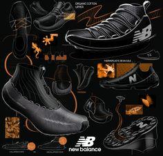 New Balance Concepts Sports Women, Nike Women, Sneakers Sketch, Rita Ora Adidas, Nike Shoes, Sneakers Nike, Shoe Sketches, Design Products, Product Design