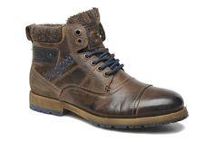 Bugatti Ted (Marron) - Bottines et boots chez Sarenza (147253)