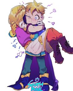 A compilation of cute South Park comics and pictures I randomly find … South Park Funny, South Park Memes, South Park Anime, South Park Fanart, Butters South Park, Style South Park, Creek South Park, Ship Art, Paladin