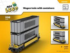 Amazon.com: Wagon Contener (Instruction Only): MOC LEGO eBook: Bryan Paquette: Gateway