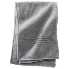 T-Tex Microfiber Towel - Manatee Gray  2 hand towels for bathroom  1 large towel for rack