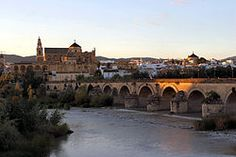 As you drive along this ancient Roman bridge into Cordoba, Spain, you become enthralled with this historic city.  Once the world's greatest examples of how the people and scholars of the religions of Christianity, Judaism and Islam lived in harmony.