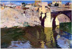 Joaquín Sorolla y Bastida (1863-1923), San Martin Bridge at Toledo, 1906