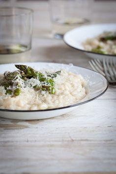 Grilled Asparagus & Lemon RIsotto