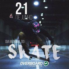 Quantas histórias você já viveu ao lado do seu carrinho?  Quantos obstáculos já enfrentou pra chegar na manobra perfeita?  Parabéns ao esporte que leva o verdadeiro sentido do SANGUE e SUOR!  VIVA O SKATE! ✊✌️🤘 #GoSkateboardingDay #Skate #Skateboarding #Skatelife #Sk8 #SkateorDie