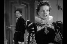 Katherine Hepburn and John Carradine as Mary Queen of Scots and David Rizzio film) - the tragic tale goes that he was her lover, and when their relationship was found out he was stabbed 56 times and killed by Lord Darnley and his associates. John Carradine, Mary Queen Of Scots, Documentaries, Hollywood, Relationship, Movies, Films, Actors, Couple Photos
