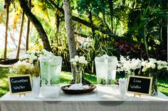 A beautiful outdoor wedding in Costa Rica, by A Brit & A Blonde - Full Post: http://www.brideswithoutborders.com/inspiration/beautiful-outdoor-wedding-in-costa-rica-by-a-brit-a-blonde