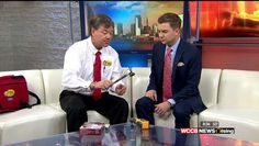 Rusty Wise talking about Home Electrical Safety on WCCB TV Charlotte NC