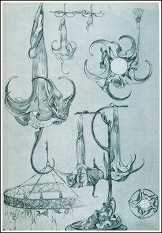 The Subtle, Sensuous Draftsmanship of Alphonse Mucha's Art Nouveau Design