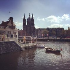 Taking in the canal views in #amsterdam