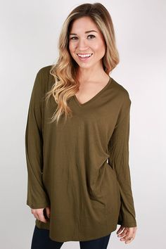 We're in love with this new PIKO style, and it comes in several colors! The flowy sleeves give a pretty flare to what is already one of our favorite basics!