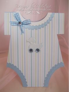 Baby Onesie Card