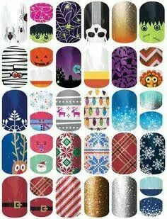 Check out our Holiday wraps!!!!  Www.aketner.jamberrynails.net