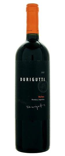 Durigutti malbec- smooth, stone fruits, flat, mild, rich, clean finish.