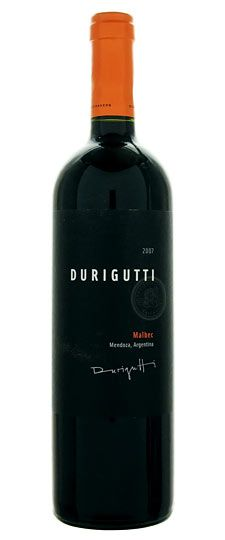 Durigutti malbec- smooth, stone fruits, flat, mild, rich, clean finish.
