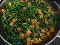 Made this on 3/2/15 - so good! - Chicken and Green Bean Stir Fry