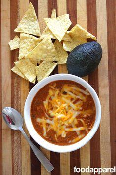 (Zupa's Copycat) Crockpot Chicken Enchilada Soup: Classic Style I FoodApparel.com