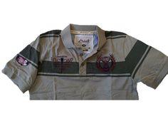 camisa polo Camisa Polo, Motorcycle Jacket, Jackets, Fashion, Down Jackets, Moda, Fashion Styles, Fashion Illustrations, Jacket