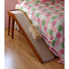 Diy dog stairs to bed sleep Ideas Dog Stairs For Bed, Dog Ramp For Bed, Pet Ramp, Diy Dog Bed, Outside Dogs, Pet Dogs, Pets, Doggies, Dog Steps