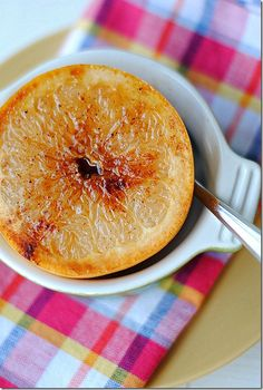 Cinnamon and Honey Spiced Grapefruit by eatyourselfskinny #  Grapefruit
