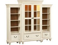 Charming Home Offices, Southport Bookcase   Distressed White, Home Offices | Havertys  Furniture