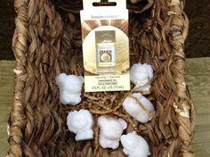 Wax melts with Vanilla fragrance oil 7.00 by BabyBearCrayons