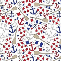 Love this nautical pattern