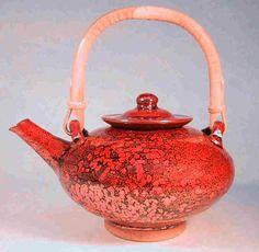Bill Boyd iron crystal teapot.